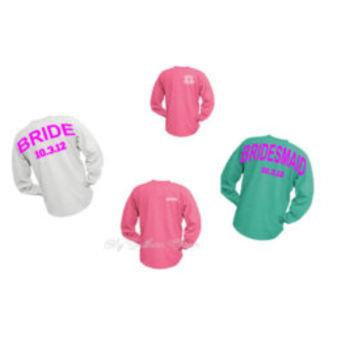 Monogram Youth Spirit Shirt Personalized Pom Pom Jersey
