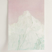 Print Club Boston Violet Green Peak Art Print - Urban Outfitters