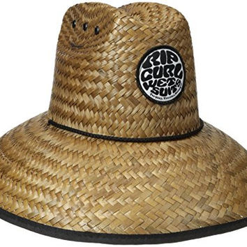 Rip Curl Men's Baywatch Straw Hat, Natural, One Size