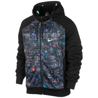 Nike Graphic Fan Hero Full Zip Hoodie - Men's