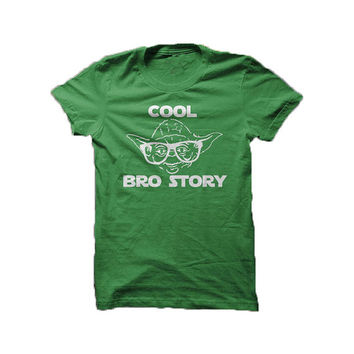 Cool Bro Story - Star Wars parody - tee shirt