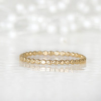 1.5mm Bead Ring in 14k Gold