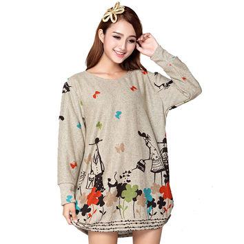 Lolita Dress Cheap Clothes China Robe Femme 2016 Women Autumn Winter Pin Up T Shirt Dresses Korean Plus Size Indian Vestido Mini