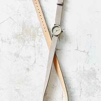 Double Wrap Suede Watch