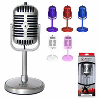 Mini Pocket Microphone Cell Phone Karaoke Player for iPhone PC Home KTV Recorder