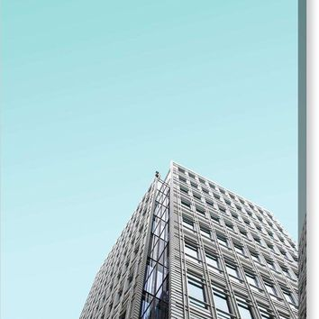 Urban Architecture - Tottenham Court Road, London, United Kingdom - Canvas Print