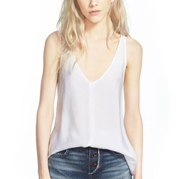 Women's James Perse V-Neck Tank,