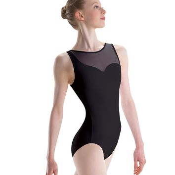 Motionwear Girl's Asymmetric Leotard