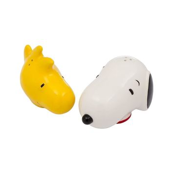 Peanuts Snoopy Woodstock Salt and Pepper Shaker Set