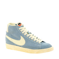 Nike Blazer Mid Light Blue Trainers