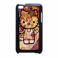 Obey Hello Kitty iPod Touch 4th Generation Case