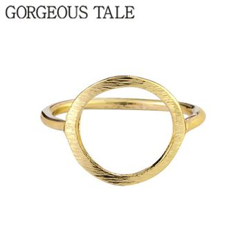 GORGEOUS TALE 10pcs Retro Anel Falange Vintage Wedding Gold-color Kunckle Midi Masonic Circle Rings For Women Bijoux Bague