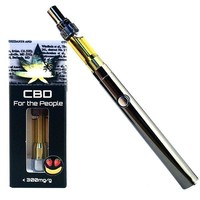 CBD For The People UNCUT Wax Cartridges (1.0g) w/ BATTERY KIT! (Hybrid)  8 Flavors