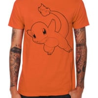 Pokemon Charmander Outline T-Shirt