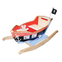 Teamson Kids Pirate Ship With Scope, Sword, & Pirate Hat