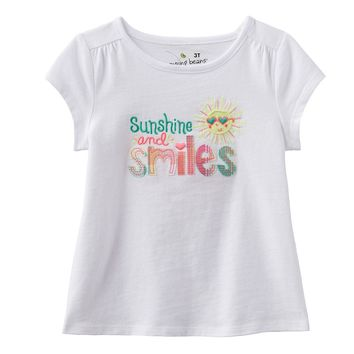Jumping Beans ''Sunshine & Smiles'' Sun Tee - Toddler Girl, Size: