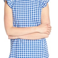 Gibson x Hi Sugarplum! Kamari Gingham Top (Regular & Petite) (Nordstrom Exclusive) | Nordstrom