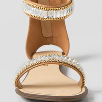 Loften Jeweled Sandal