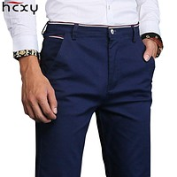 2018 new fashion Mens Casual Pants high quality Brand Work Pants male Clothing Cotton Formal Trousers men size 36 38