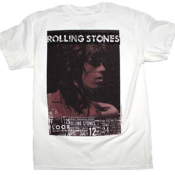 Rolling Stones Keith Vintage Live T-Shirt Medium
