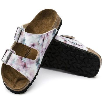 Sale Birkenstock Arizona Soft Footbed Birko Flor Pixel Rose 1005923 Sandals
