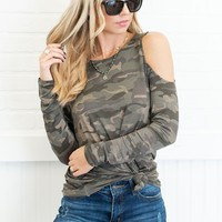 Mud Pie: The Trish Top, Camo