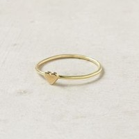 Wee Heart Ring, Brass - Anthropologie.com