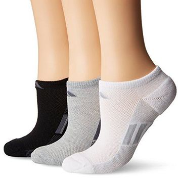 adidas Womens Superlite No Show Socks 3 Pack