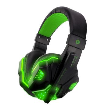 PS830 Wired Gaming Headset Deep Bass Game Earphone Computer headphones with microphone led light headphones for PS4 Xbox One