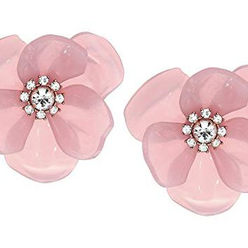 Kate Spade New York Slice of Stone Flower Studs Earrings