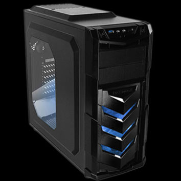 RAIDMAX ATX-404WU Black Steel / Plastic ATX Mid Tower Computer Case