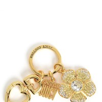 Gold Spring Flower Keyfob by Juicy Couture, O/S