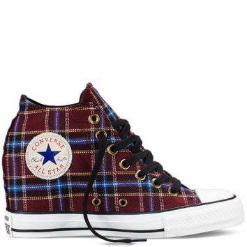 Chuck Taylor All Star Plaid Lux Wedge