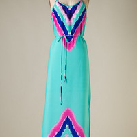 Take a Dip Maxi Dress - Mint - Hazel & Olive