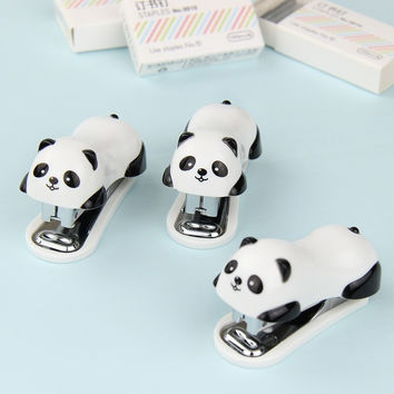 1 PC Mini Panda Stapler