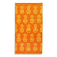 Pineapple Jacquard Beach Towel