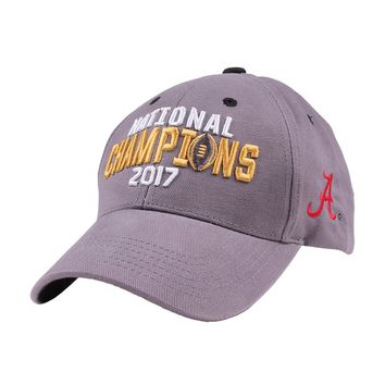 2017 Alabama National Champions Hat by National Cap & Sportswear