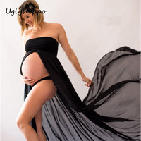 New Women Maternity Photography Props Elegant Pregnancy Clothes Maternity Dresses MO53