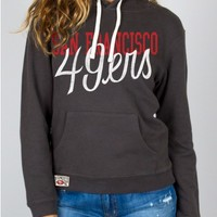 NFL San Francisco 49ers Pullover Hoodie - Tops - Womens