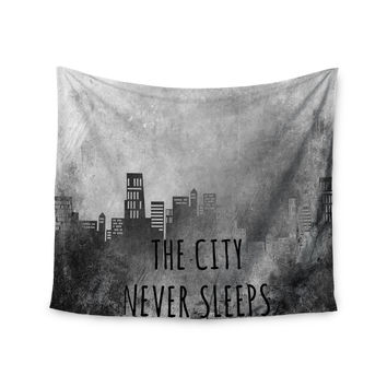 "Alison Coxon ""The City Never Sleeps"" Wall Tapestry"