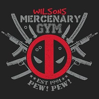 Deadpool Mercenary Gym