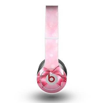 The Magical Pink Bow Skin for the Beats by Dre Original Solo-Solo HD Headphones