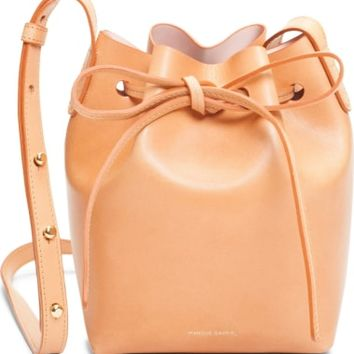 Mansur Gavriel Mini Mini Leather Bucket Bag | Nordstrom