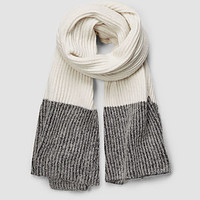 Womens Keeble Scarf (Charcoal) | ALLSAINTS.com