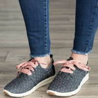 TOMS Chambray Dot Sneakers