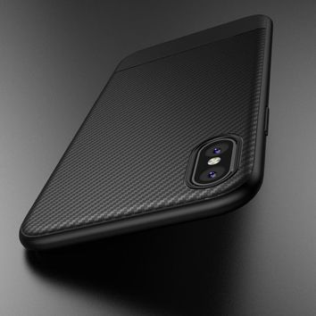 Racing Inspired Carbon Fiber iPhone Case