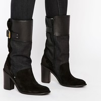 G-Star Troupe Calf Heeled Ankle Boots at asos.com