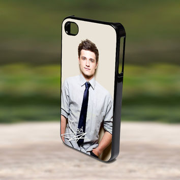 Accessories Print Hard Case for iPhone 4/4s, 5, 5s, 5c, Samsung S3, and S4 - Handsome Josh Hutcherson