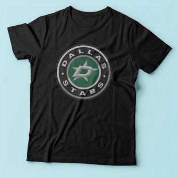Dallas Stars Club Logo Men'S T Shirt