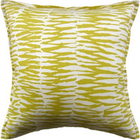Zebra Print Outdoor Throw Pillow